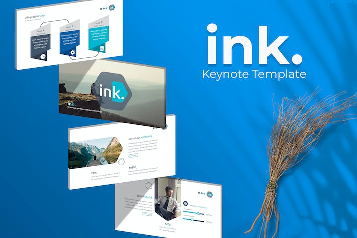 Thumbnail for ink. - Keynote Template