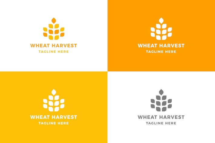 Cover Image For Wheat - Logo Template