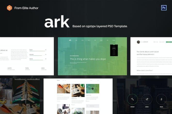 ARK - Business Dedizierte kreative Vorlage