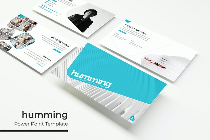 Thumbnail for humming - Powerpoint Template