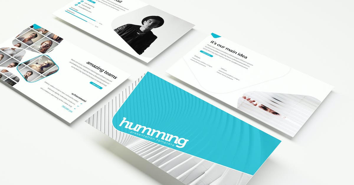 Download humming - Powerpoint Template by IanMikraz