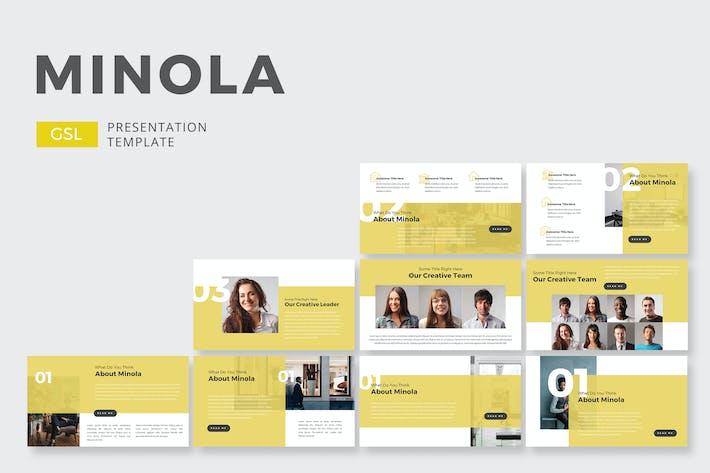 Thumbnail for Minola Business - Google Slides