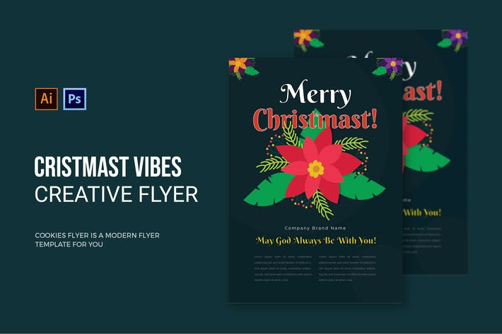 Thumbnail for Christmast Vibes - Flyer