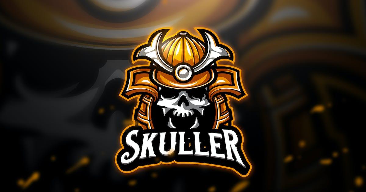 Download Skuller 2 - Mascot & Esport Logo by aqrstudio