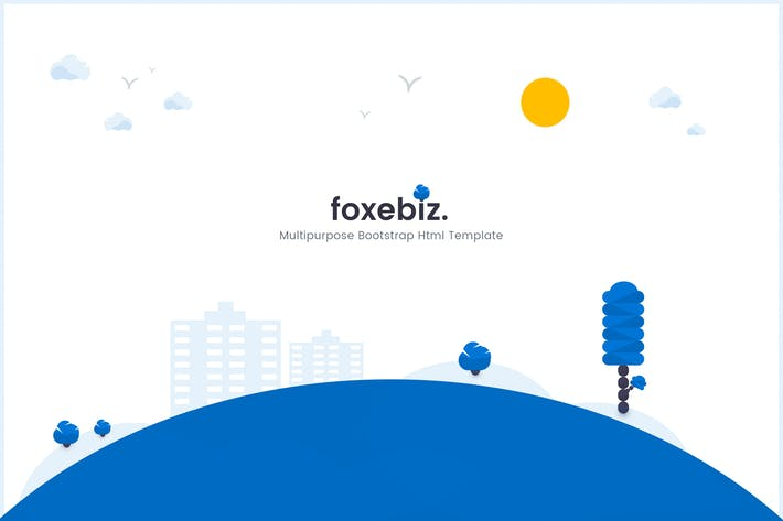 Thumbnail for Foxebiz - Multipurpose Html Template
