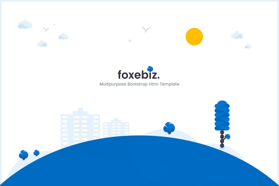 Foxebiz - Multipurpose Html Template