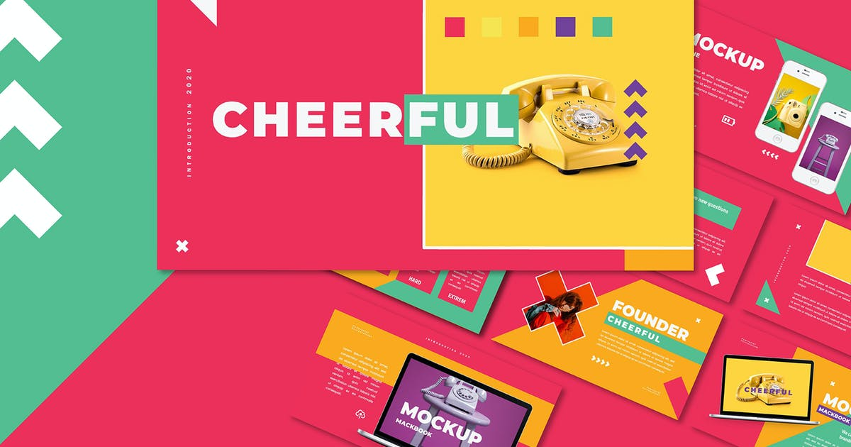 Download Cheerful - Power Point Template by axelartstudio