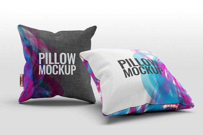 Cover Image For Pillow Mock-Up
