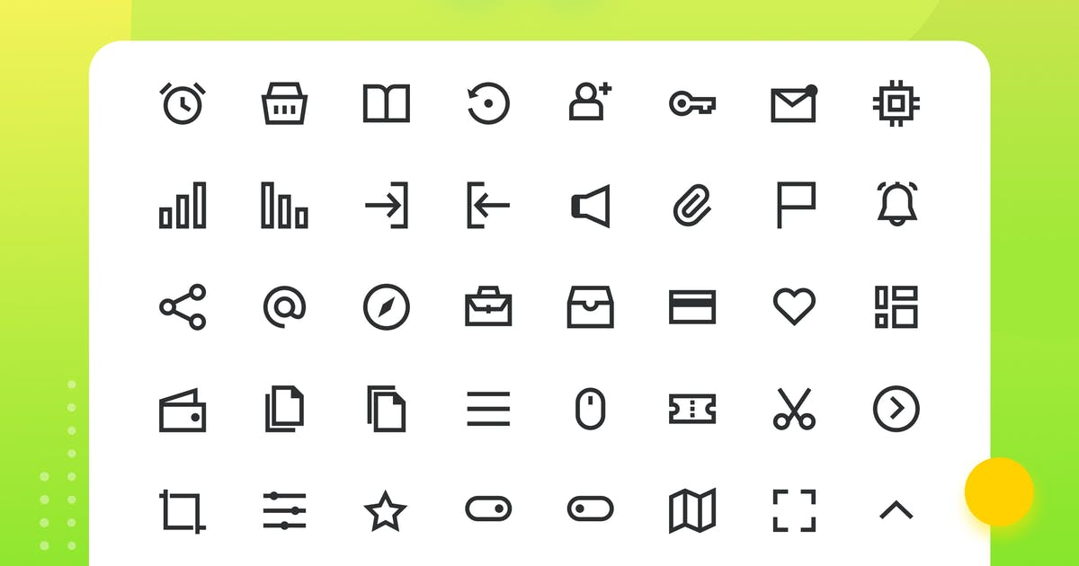Download Antarmuka - UI Element Iconset - One  Color 4 by sudutlancip