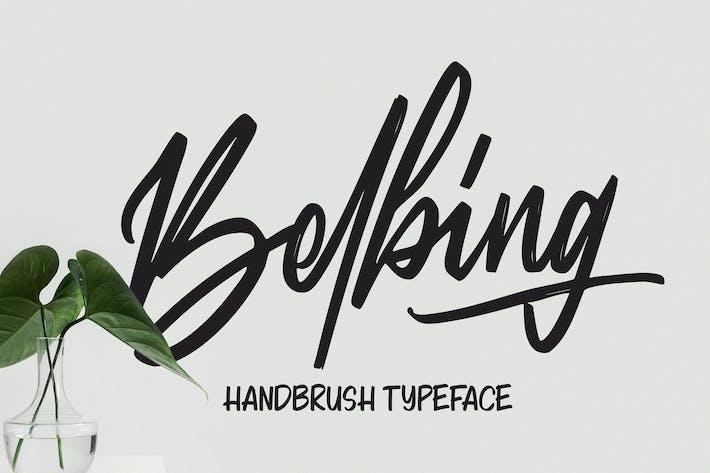 Belbing - Script Font