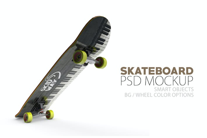 Cover Image For Skateboard Layered PSD Mock-ups