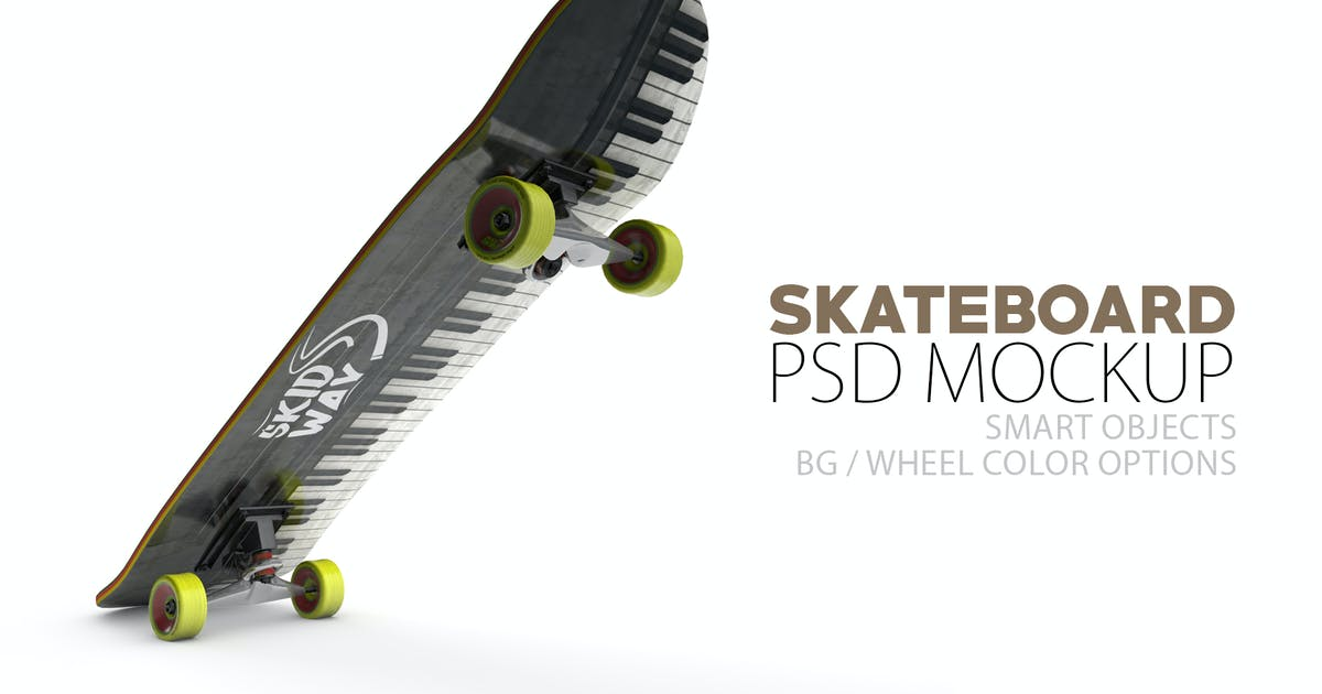 Download Skateboard Layered PSD Mock-ups by Abdelrahman_El-masry