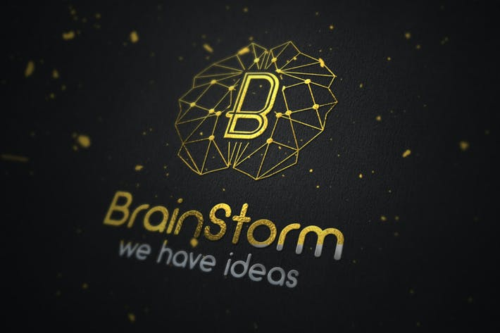 Thumbnail for Brain Storm Logo Concept