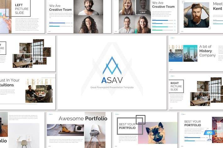 Thumbnail for ASAV - Keynote Template