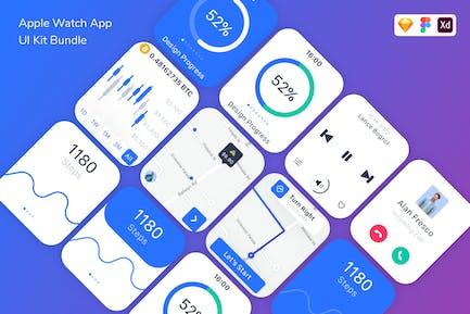 Apple Watch App UI Kit Bundle