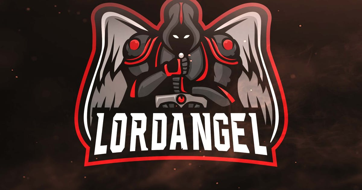 Download Lord Angel Sport and Esports Logos by ovozdigital