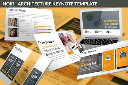 Noir - Architecture Keynote Template