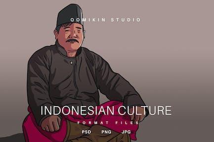 Illustration de la culture ind