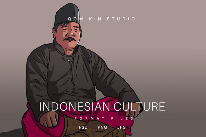 Thumbnail for Indonesian Culture Illustration