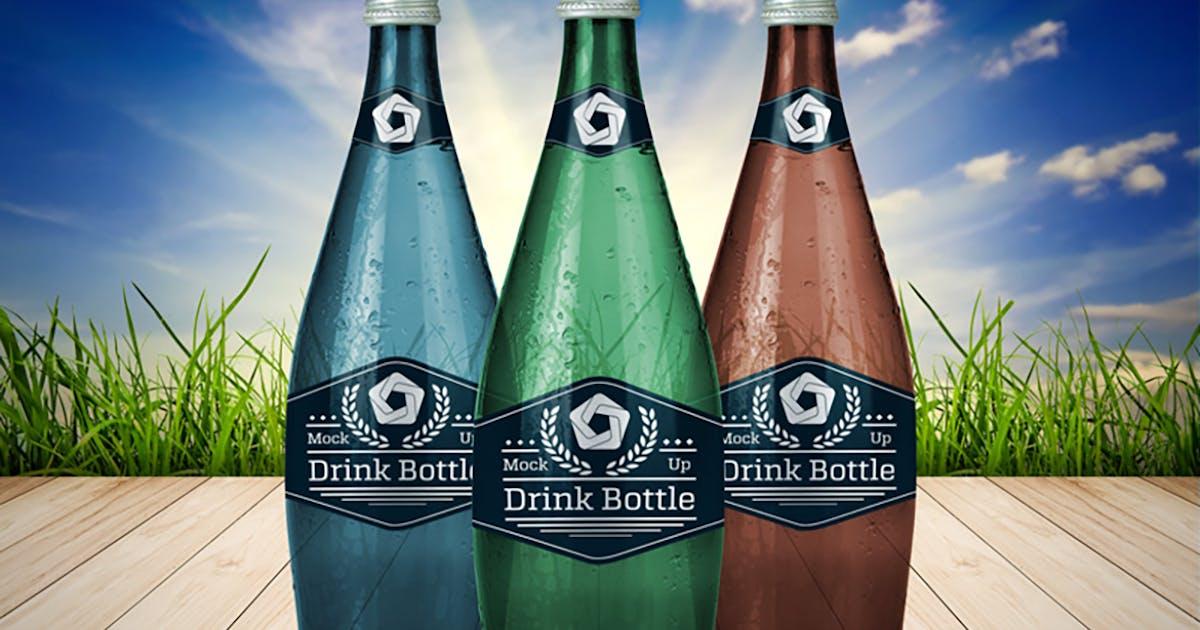 Download Drink Bottle V.1 by QalebStudio