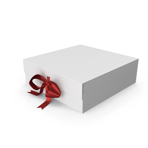 Box with Red Ribbon