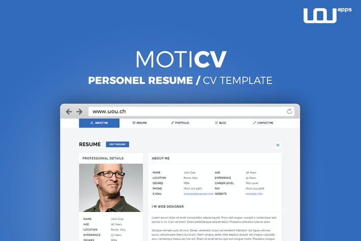download 40 vcard website templates envato elements
