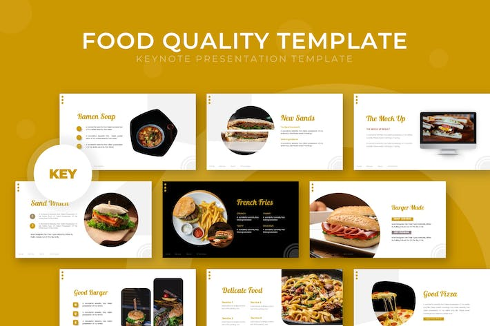 Thumbnail for Food Quality - Keynote Template