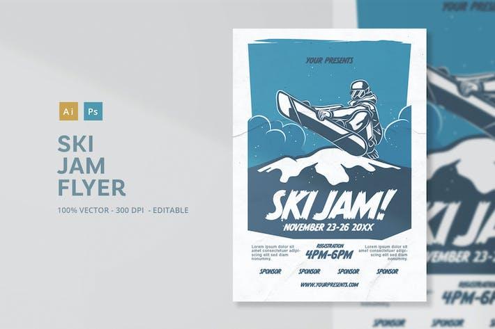 Thumbnail for Ski Jam Flyer