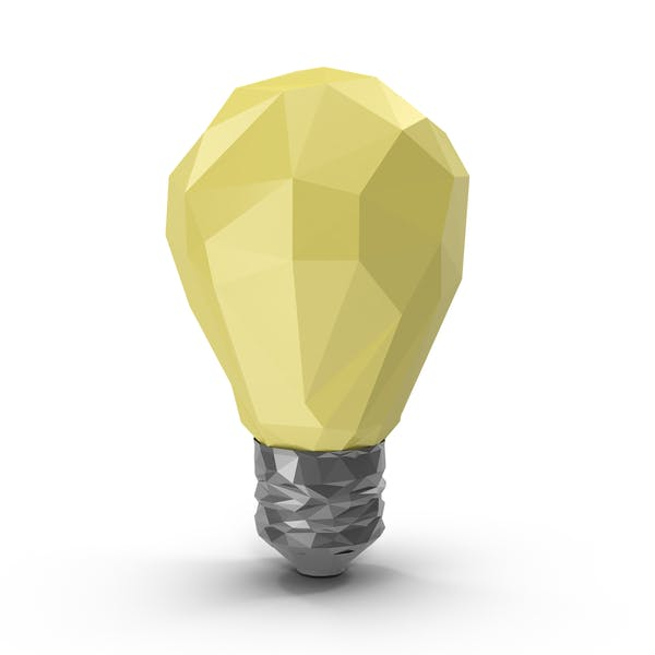 Thumbnail for Low Poly Light Bulb