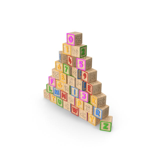 Thumbnail for Alphabet Block Pyramide
