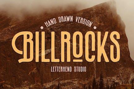 Billrocks - Versión Dibujado a Mano