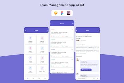Team Management App UI Kit