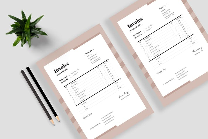 Thumbnail for Invoice Template Vol 01