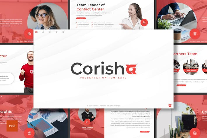 Thumbnail for Corisha - Business Powerpoint Template