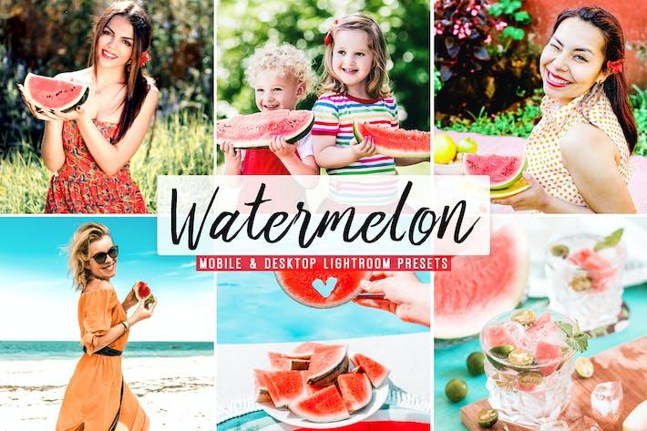 Watermelon Mobile & Desktop Lightroom Presets