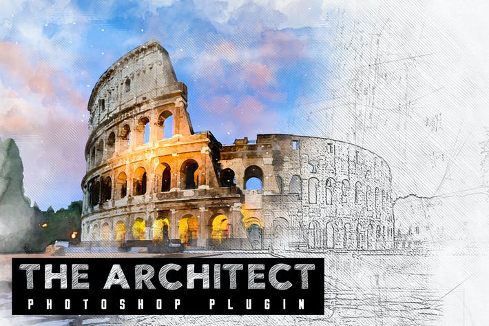 Thumbnail for The Architect - Photoshop Plugin