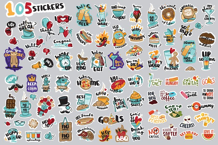 Cover Image For Hello Stickers