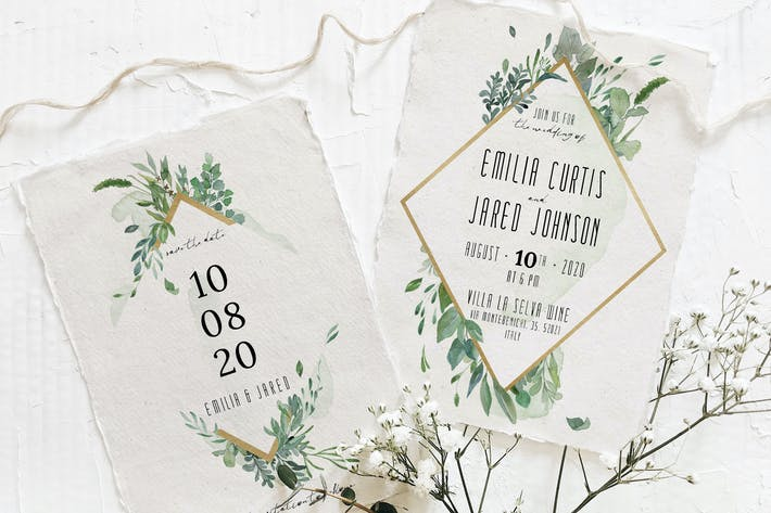 Thumbnail for Gold & Greenery Wedding Suite