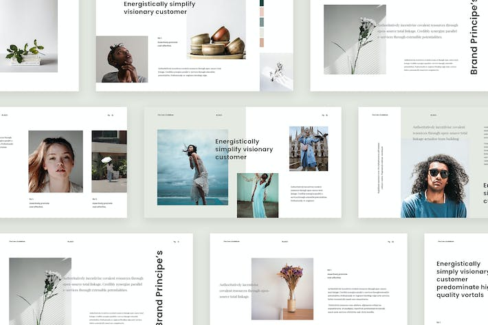 Thumbnail for Calm - PowerPoint Presentation Template