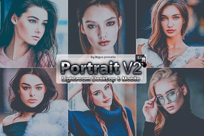 Thumbnail for Dark Mood Portrait Lightroom Presets