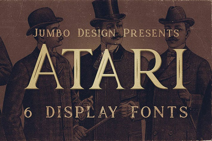 Thumbnail for Atari - Vintage Style Font