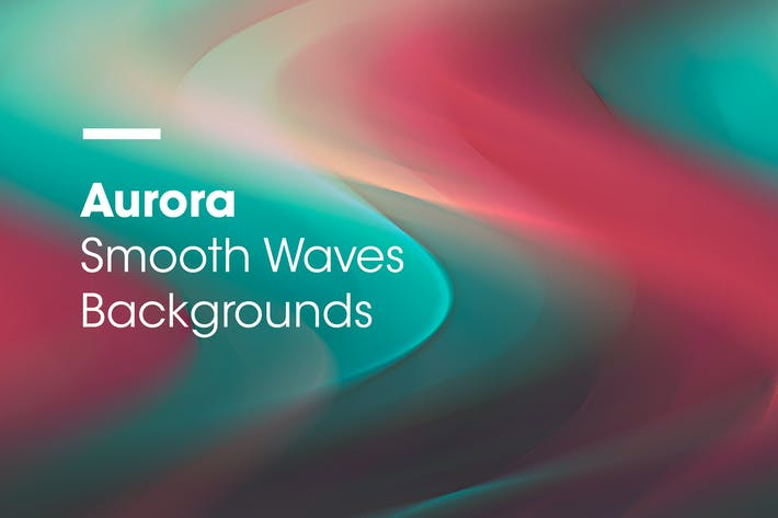 Thumbnail for Aurora | Smooth Waves Backgrounds