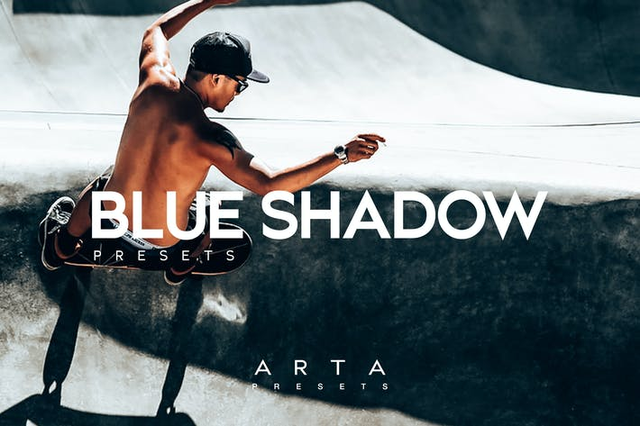 Thumbnail for ARTA Presets | Blue Shadow | Mobile and Desktop