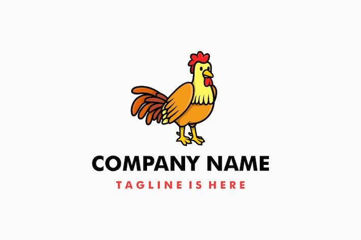 Thumbnail for Logo de dessin animé mignon coq