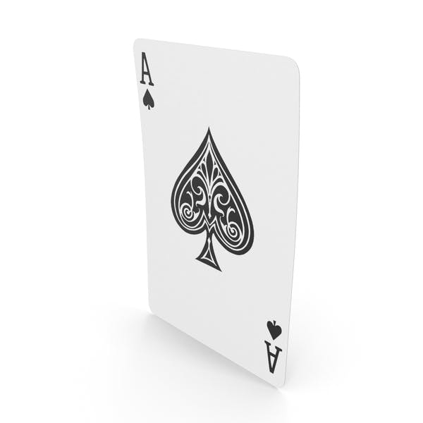 Thumbnail for Playing Cards Ace of Spades