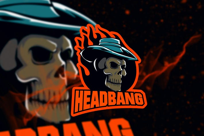 Cover Image For Headbang Logo Creator