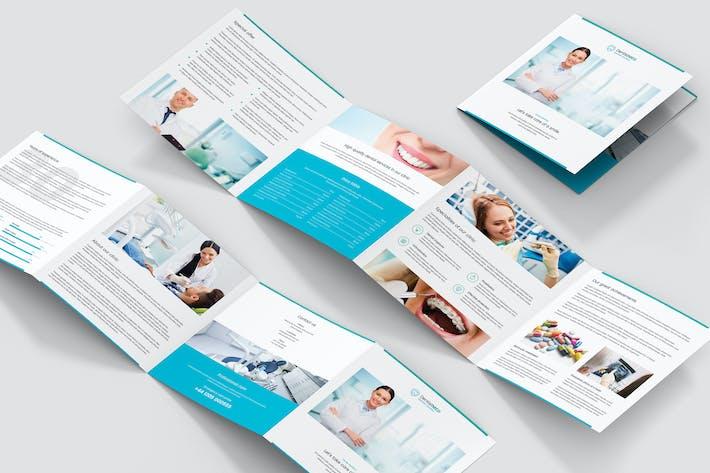 Brochure – Dentist 4-Fold Square