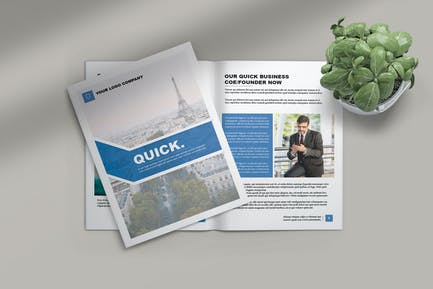 QUICK - BROCHURE BUSINESS TEMPLATE