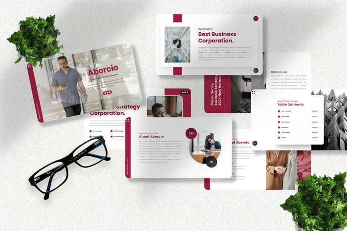 Abercio - Corporate Powerpoint Template
