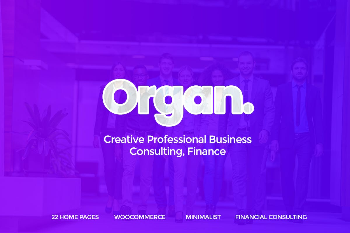 Download Organ - Creative Multipurpose PSD Template by UserThemes by Unknow